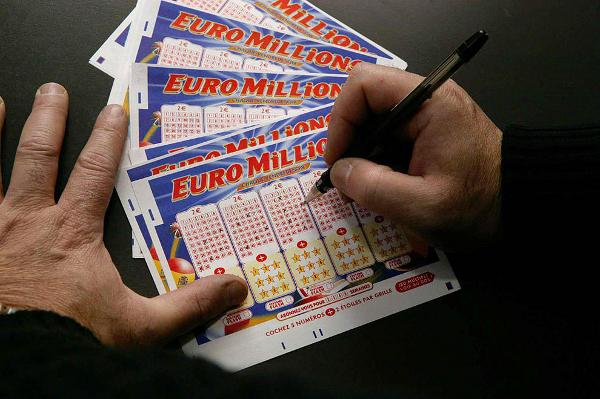Papeleta Euromillones