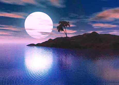 ¿Por qué brilla la Luna?