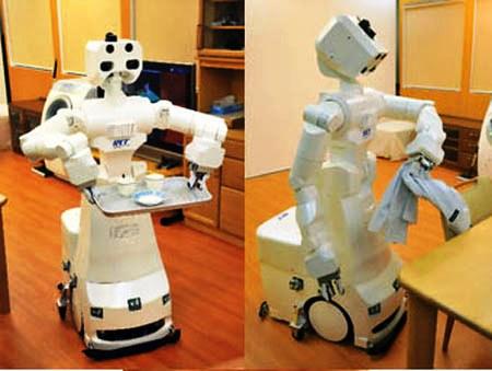 Conoce al robot que limpia oficinas