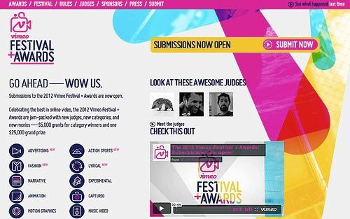 Vimeo Festival + Awards para fotógrafos